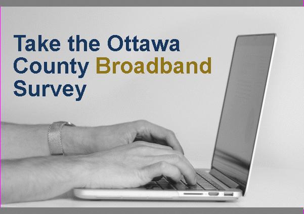 Ottawa County Broadband Survey Image